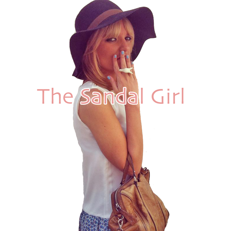 The sandal girl
