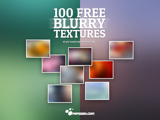 100 Free Blurry Textures