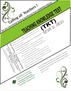 Poster Teaching Knowledge Test (TKT)