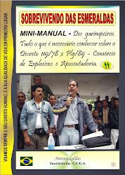 Livro: SOBREVIVENDO DAS ESMERALDAS. António Caldas