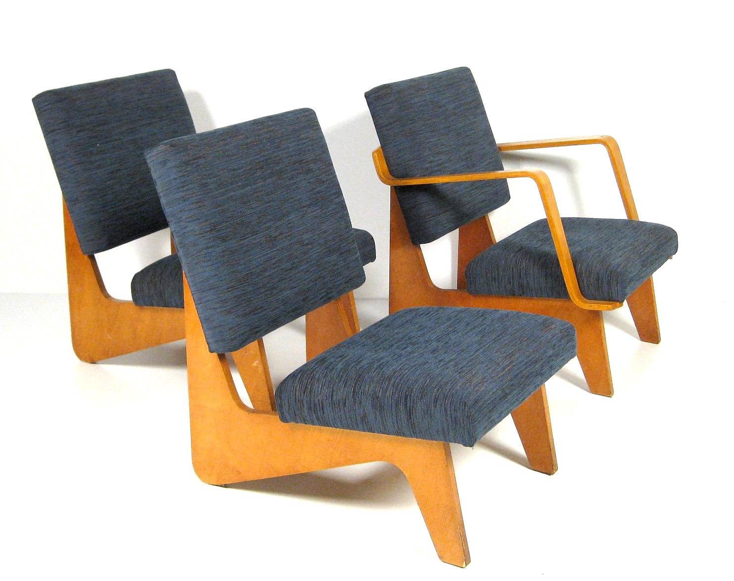 FB03 Combex Series Lounge Chairs, C. 1954. Via Lauritz, Denmark