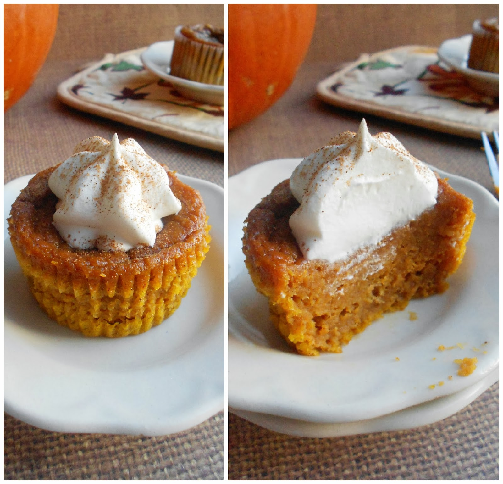 Confessions of a Confectionista: Pumpkin Pie Cupcakes