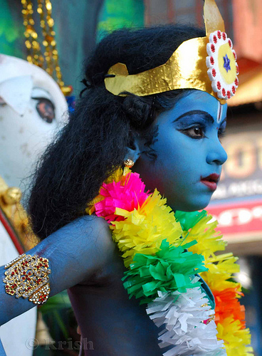 lord krishna avatar