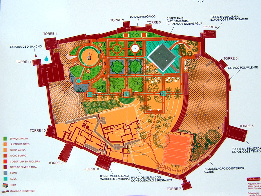 silves castle floor plan