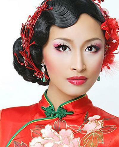 Chinese Bridal Hairstyle Appealingbridaldress