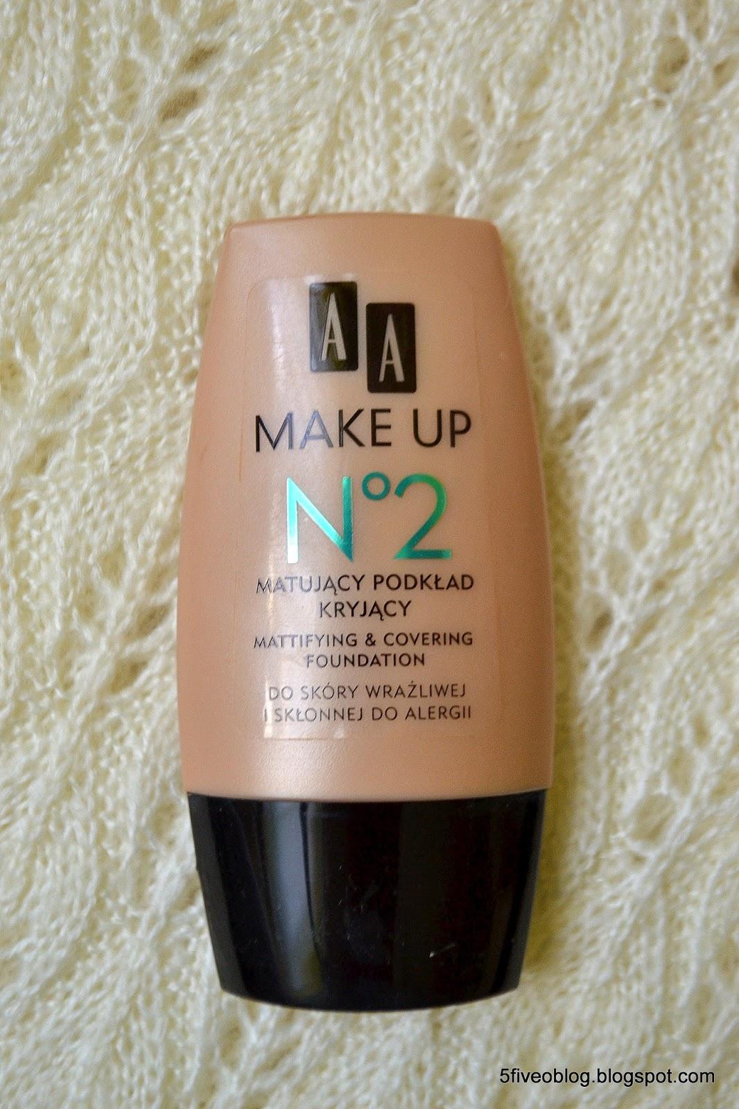 AA Make Up, Matujący Podkład Kryjący