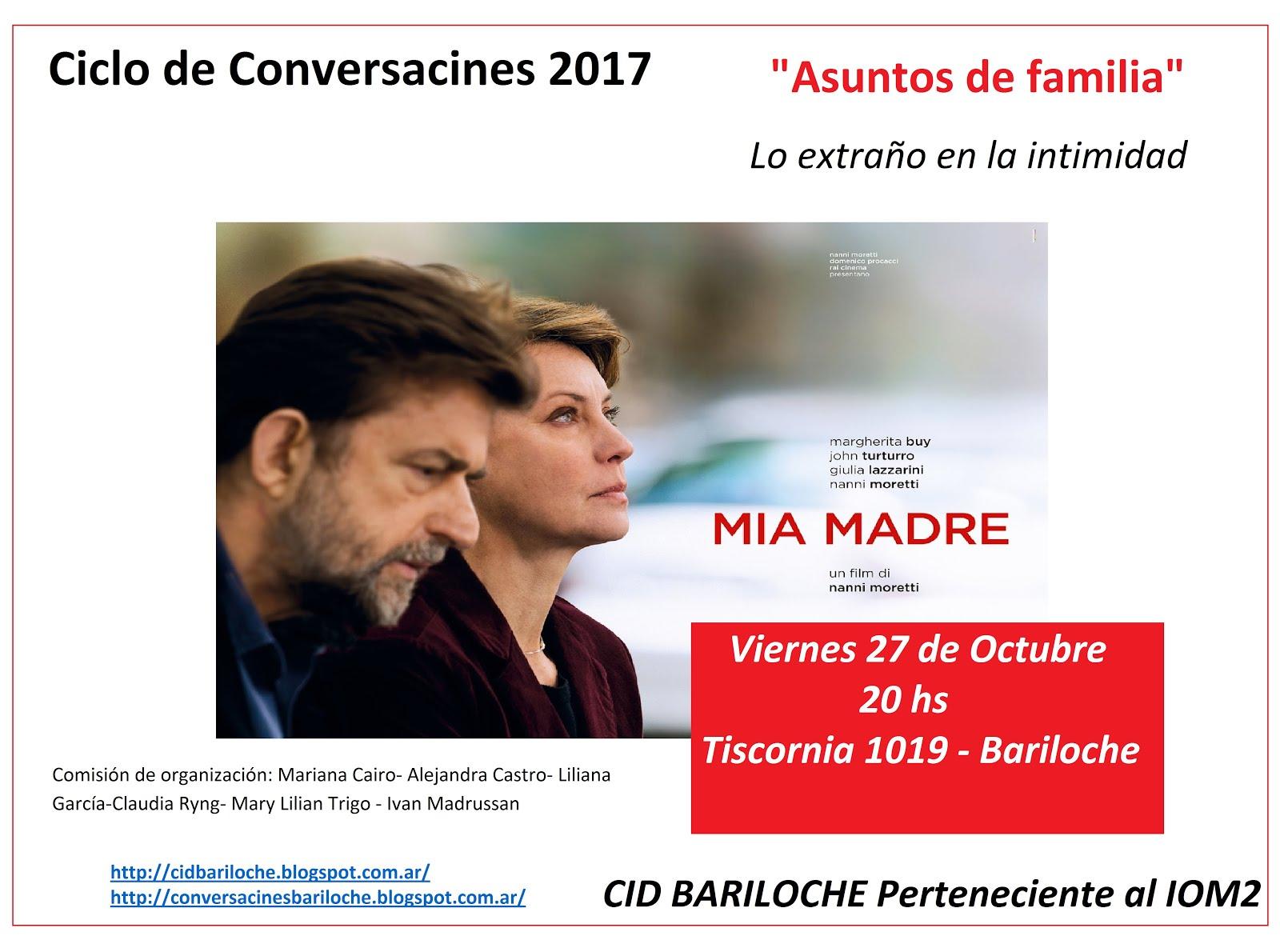 Ciclo Conversacines 2017