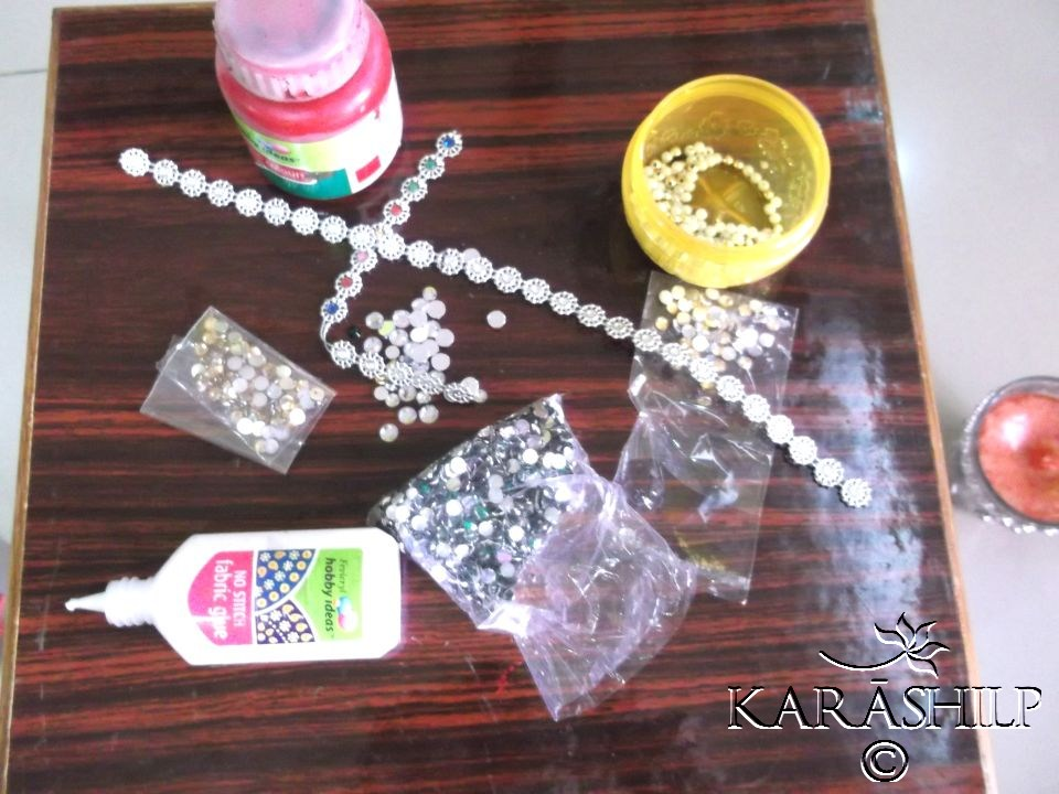Diy a make your own upcycled diyas this diwali for Diwali decoration material