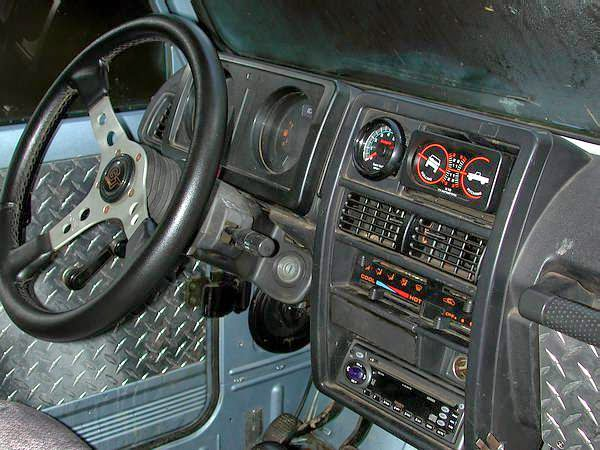 Rock Crawler Dashboard : Just a car geek suzuki samurai rock crawler owned