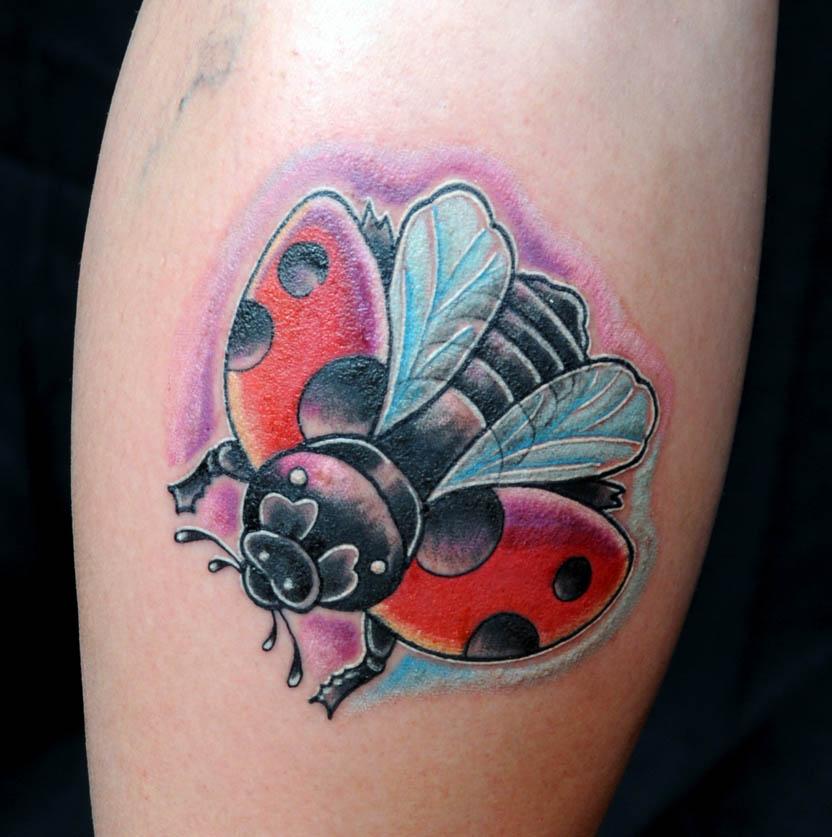 Значение татуировки божья коровка Символика тату - тату божья коровка эскизы