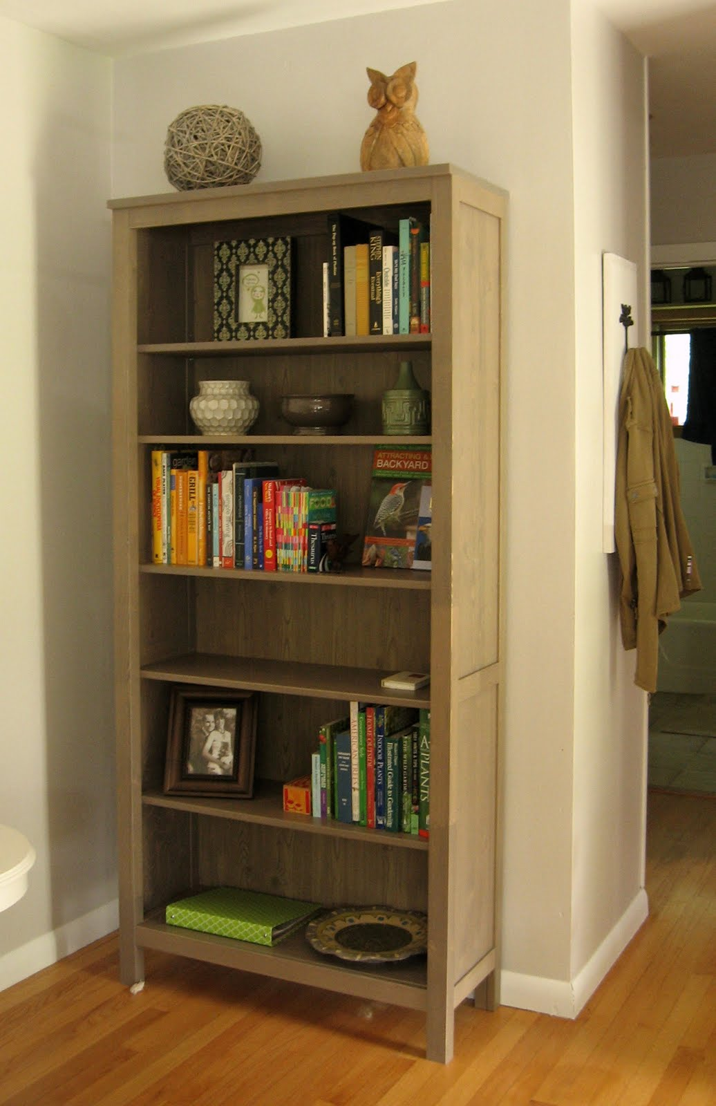 operation paper cut HEMNES Bookcase