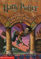 Harry Potter book cover J.K. Rowling