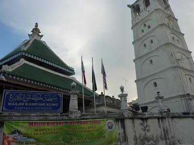 Mezquita de Masjid Kampung Kling