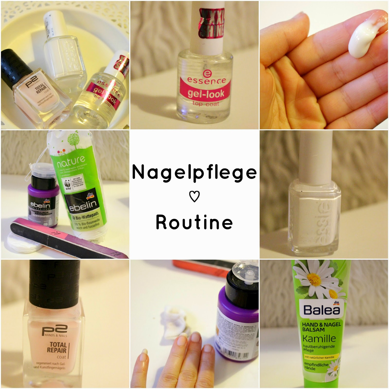 Nagelpflege Routine ♡ - mintteacookie