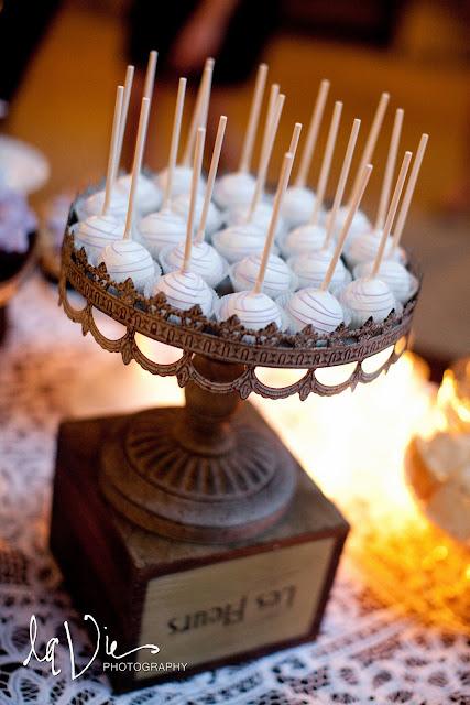 Minneapolis Wedding Desserts - Cake Lollipops