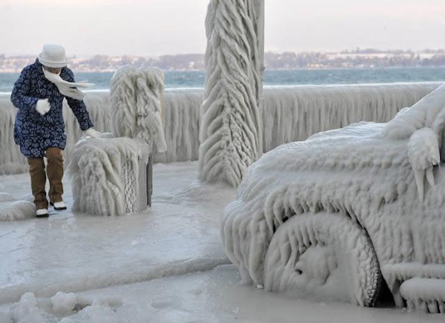 Una tormenta solar originó la terrible ola de frío en Europa. 1