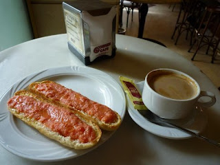 Typical Breakfast in China Spain Mexico