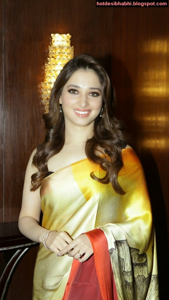 Tamanna Hot in Saree Wallpaper