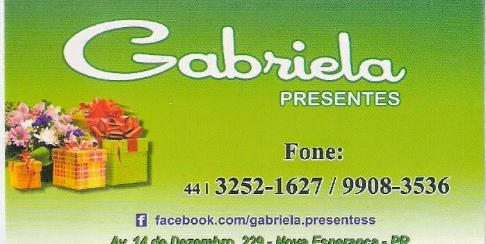 Gabriela Presentes