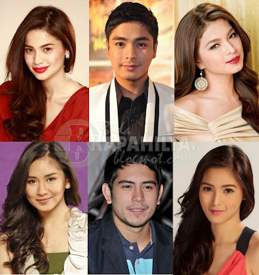 Some of the 2012 Anak TV Makabata Star Awardees: Anne Curtis, Coco Martin, Angel Locsin, Sarah Geronimo, Gerald Anderson, Kim Chiu