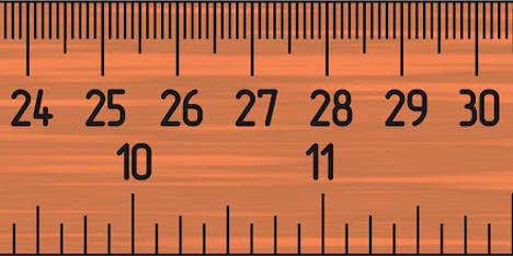 Inilah Alasan Penggaris Panjang Rata-rata 30 cm