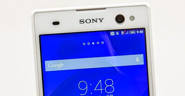 Đập hộp Xperia C3, smartphone selfie của Sony