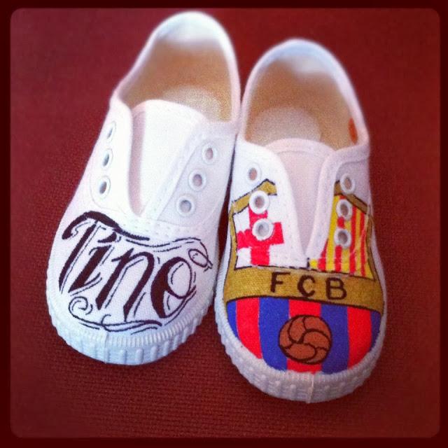 Zapatillas personalizadas Barça