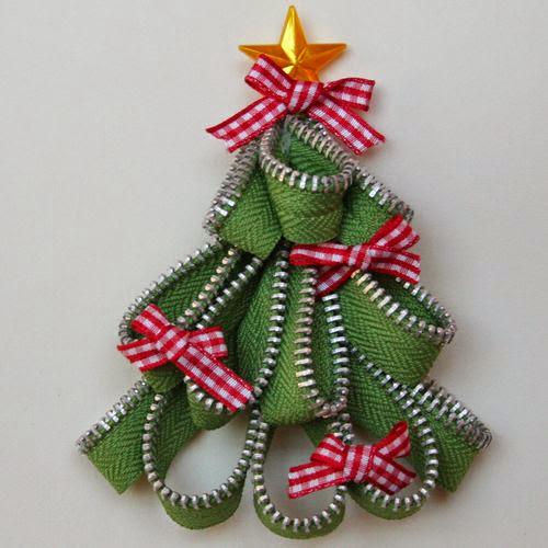 Favorito Come realizzare decorazioni natalizie con le zip NE23
