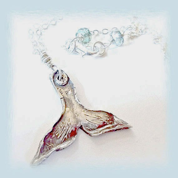 whales tail your daily jewels on etsy