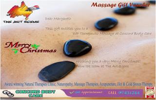 Massage Gift Voucher Template