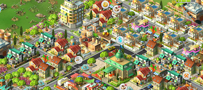 rising cities free browser city builder simulation game