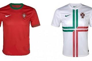 Kostum Portugal Euro 2012