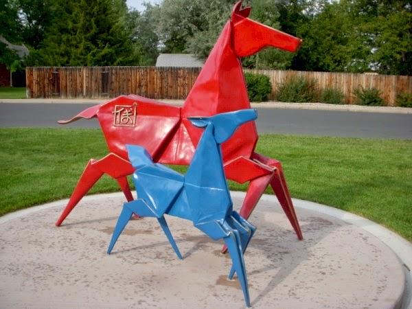 origami sculpture