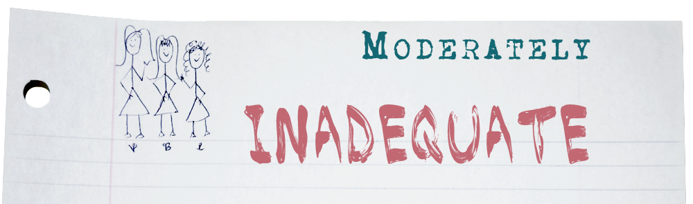 moderately inadqeuate