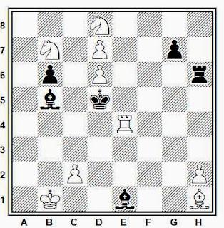 Problema de mate en 2 compuesto por Francisco Armengol (Iberia, 1927)