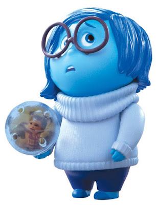 JUGUETES - DISNEY Inside Out | Del reves Tristeza | Figura Muñeco + Esfera de Memoria | Sadness Producto Oficial Película Pixar 2015 | Bizak - Tomy | A partir de 4 años Comprar en Amazon
