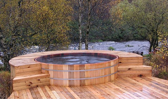 hot tubs and portable spas: Hot Tub Is A Real Luxury