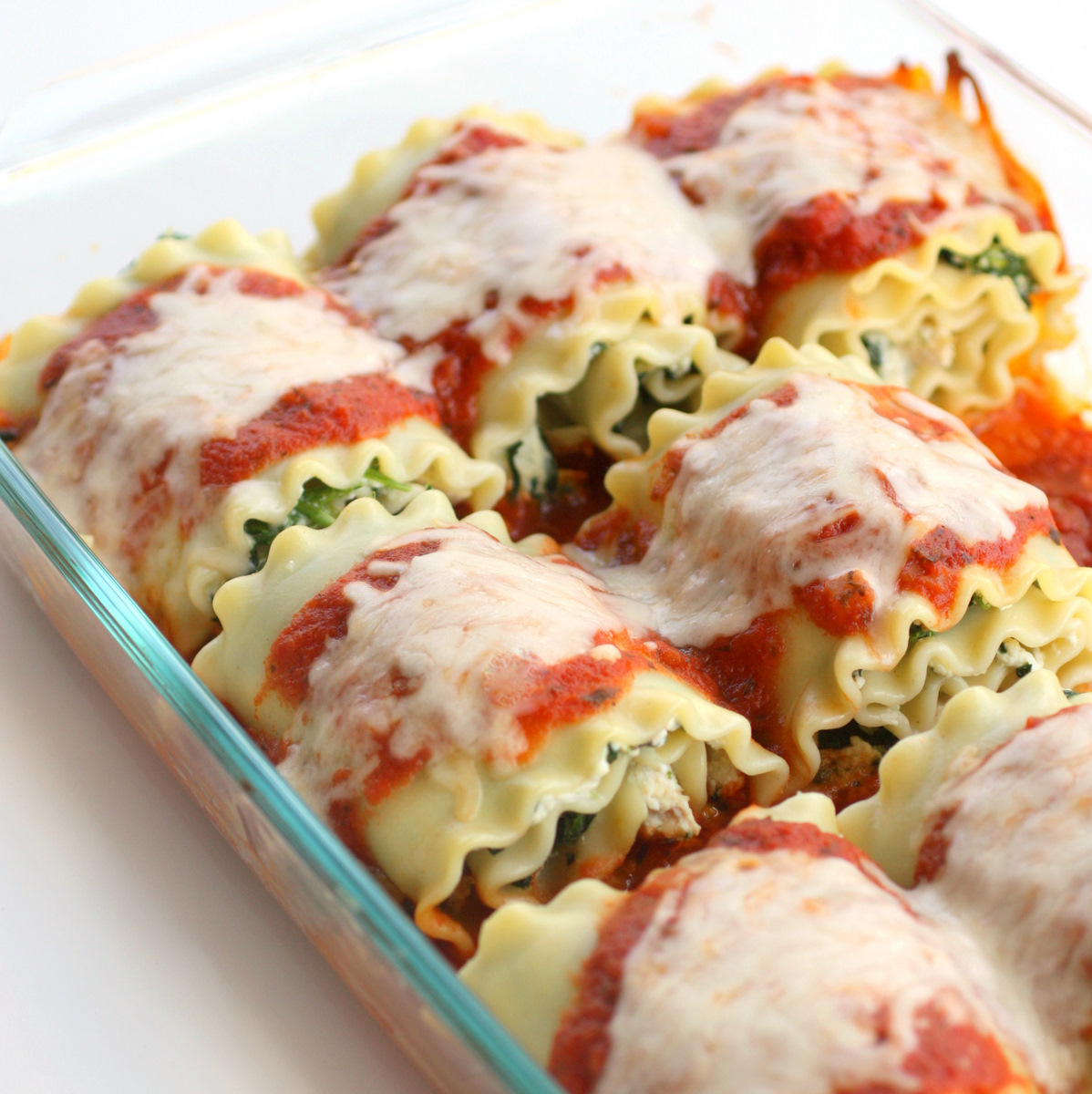 The Pinterest Critic: Spinach Lasagna Rolls