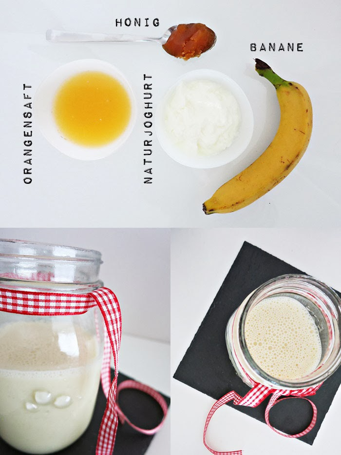 Honey Banana Smoothie