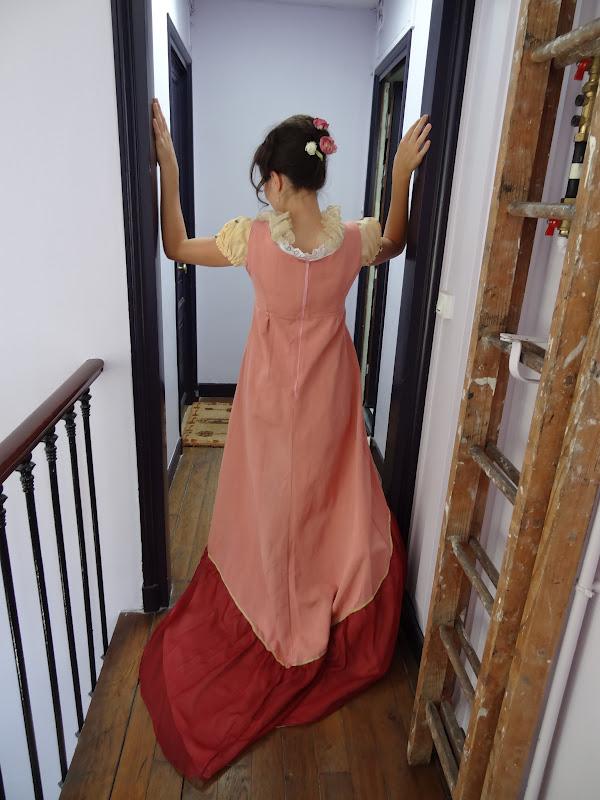 robe été longue coton