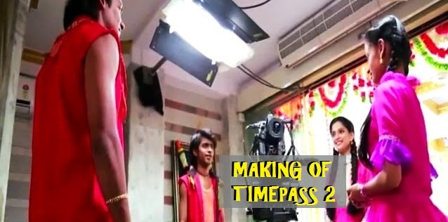 making of timepass 2 movie on location