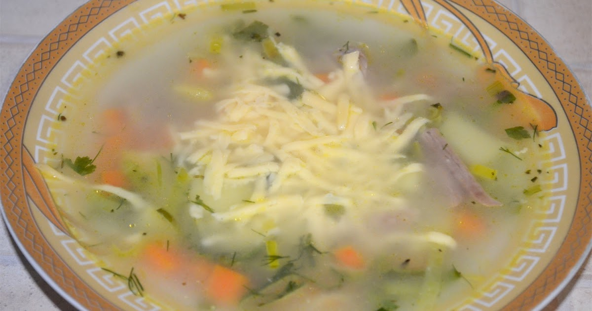 суп с луком пореем рецепт с фото