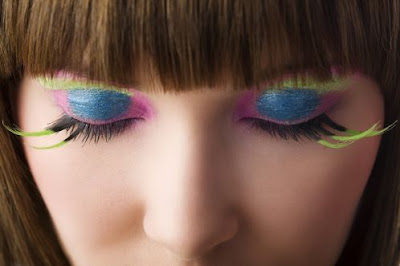 Latest Eyelash Extension Makeup Fashion 2011