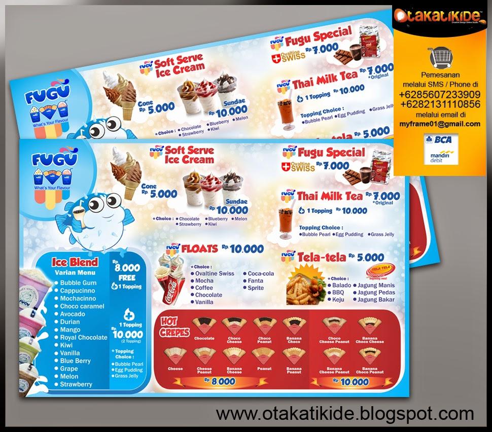 jasa desain grafis desain promosi desain katalog desain menu restoran