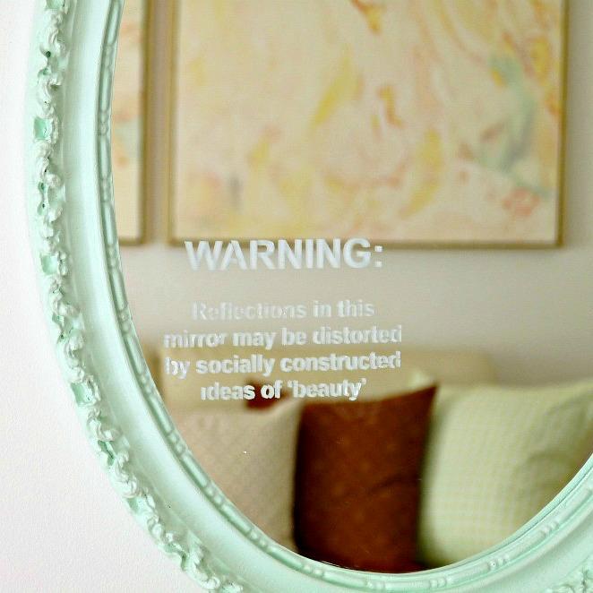 Feminist DIY Mirror