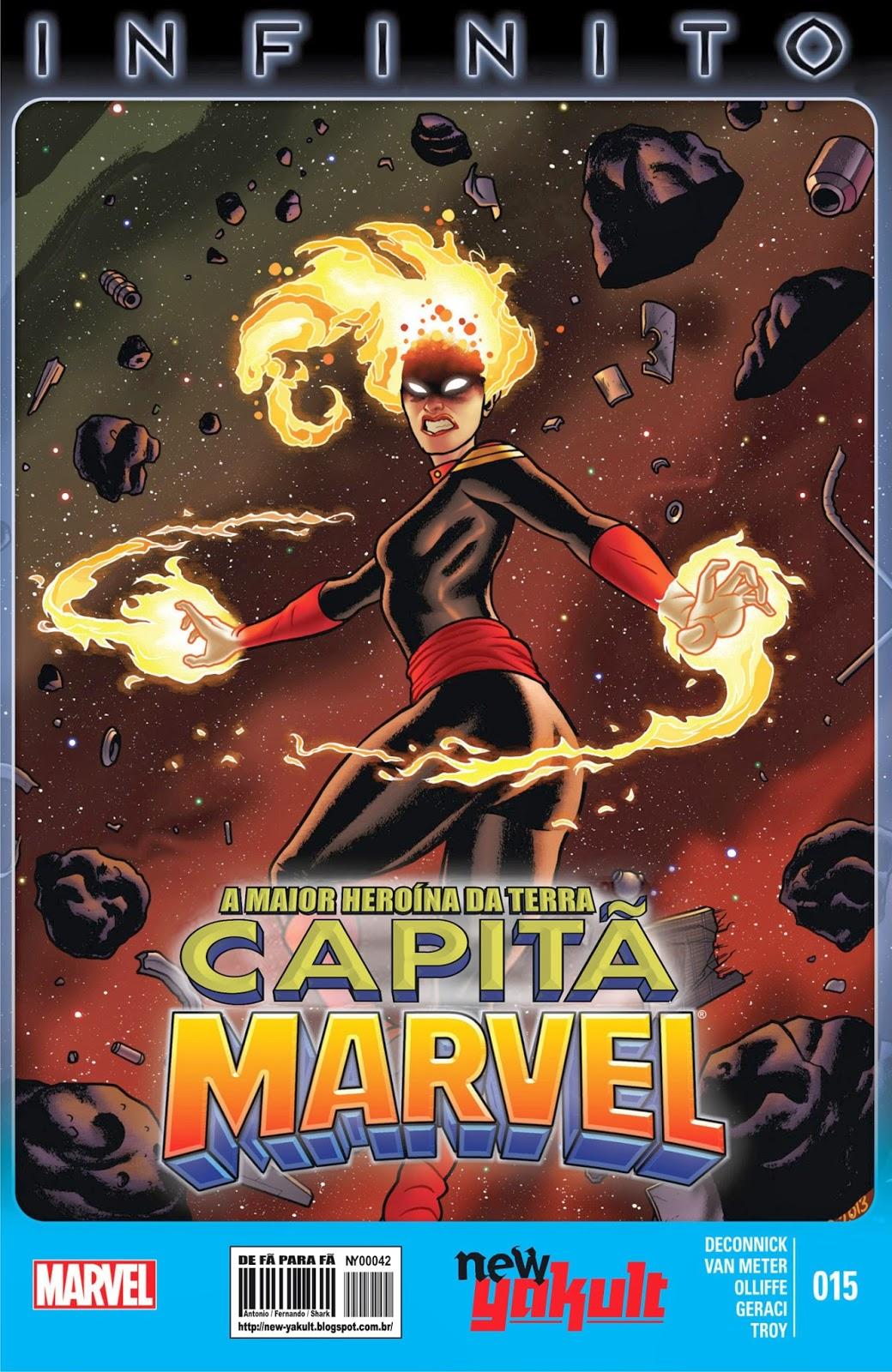 Nova Marvel! Capitã Marvel #15