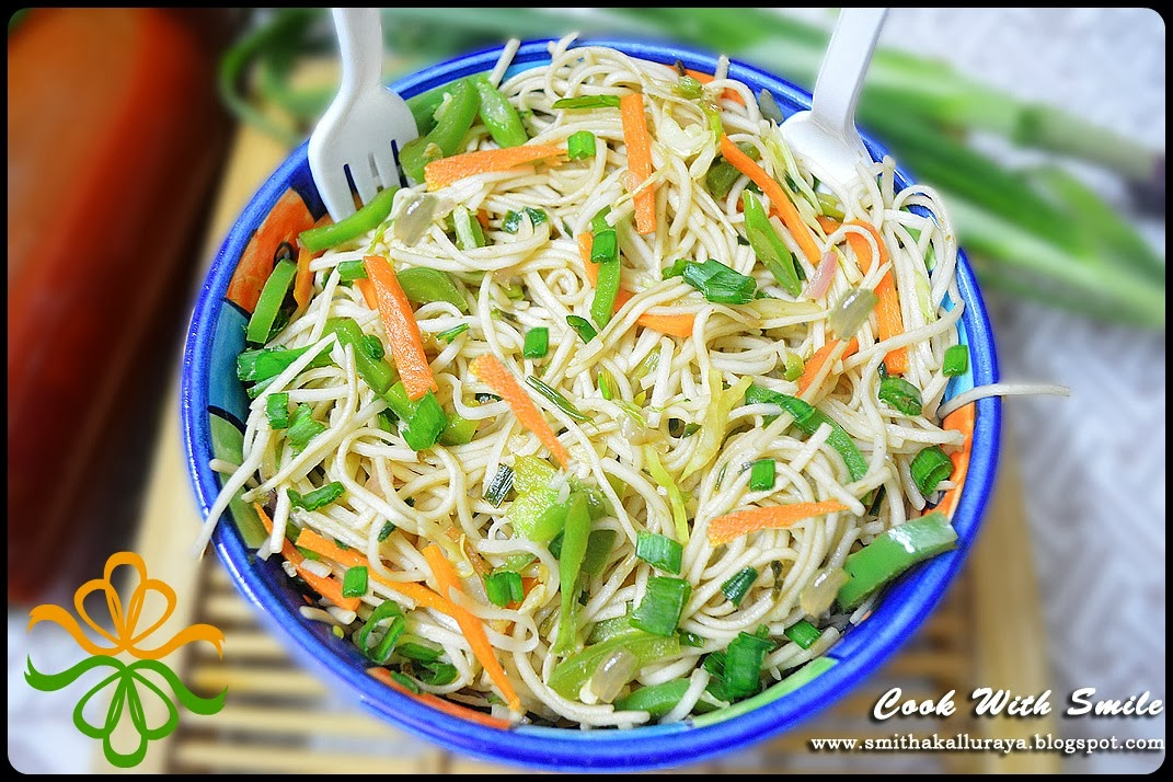 how to make vegetable chow mein in hindi