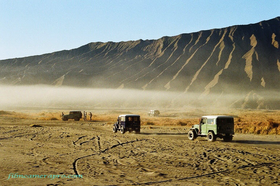 Jeeps of Bromo