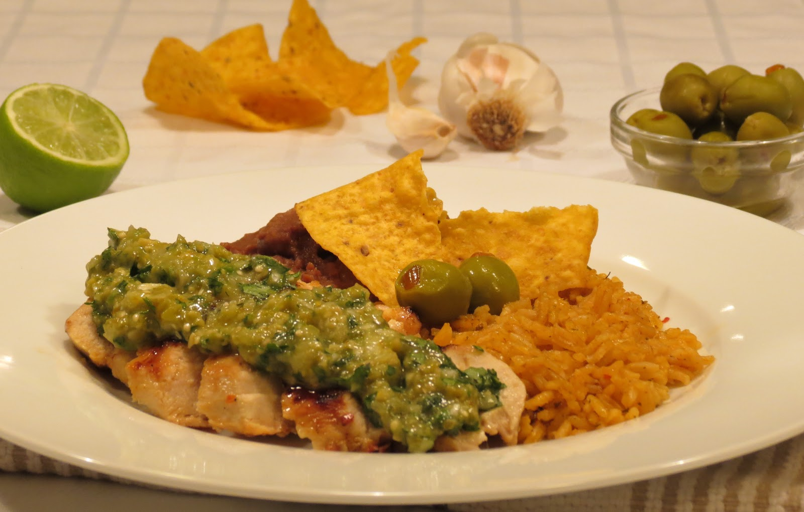 Dinner with the Welches: Grilled Chicken with Green Olive ...