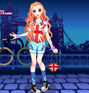 juego de moda para los juegos olímpicos de Londres 2012